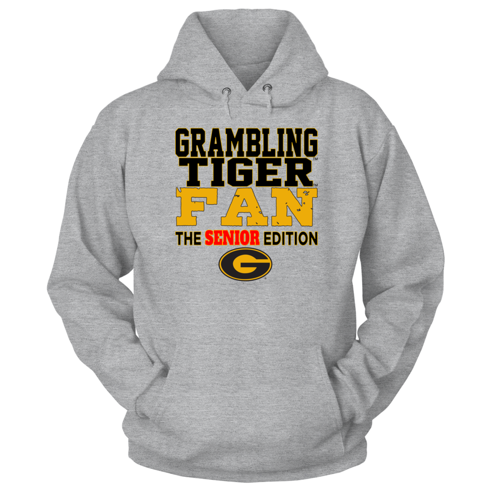 OFFICIAL GRAMBLING STATE UNIVERSITY - TIGERS SHIRTS AND MORE - SENIOR Front picture