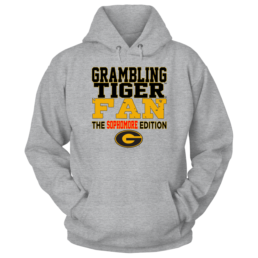 OFFICIAL GRAMBLING STATE UNIVERSITY - TIGERS SHIRTS AND MORE - SOPHOMORE Front picture
