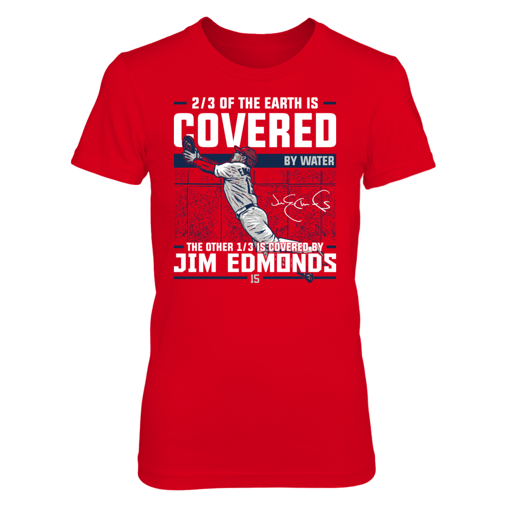 Jim Edmonds Jim Edmonds - Covered By FanPrint