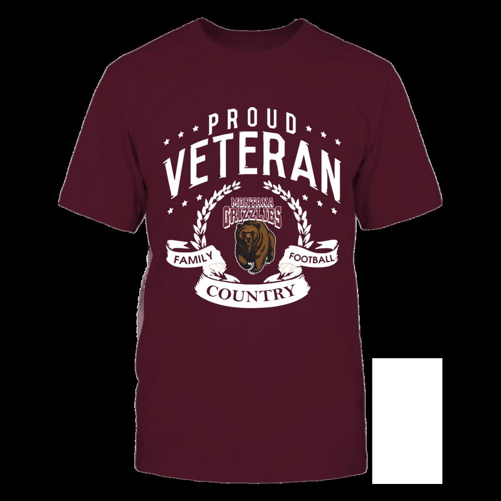 Montana Grizzlies - Proud Veteran Front picture