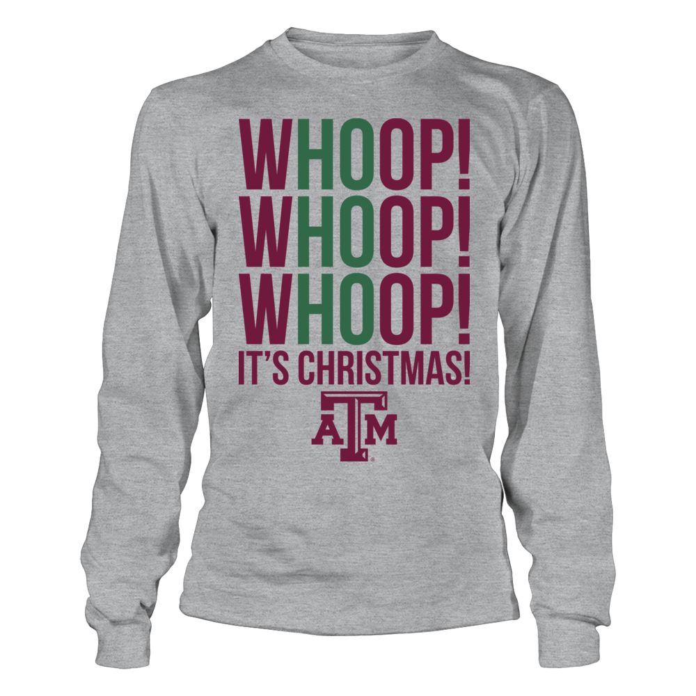 Texas A&M Aggies - Whoop! It's Christmas Front picture