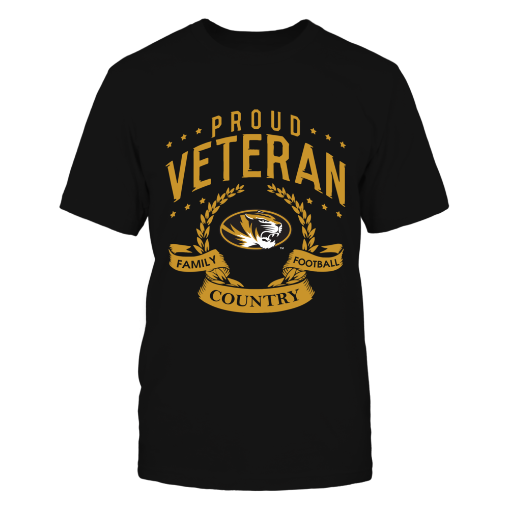Mizzou Tigers - Proud Veteran Front picture