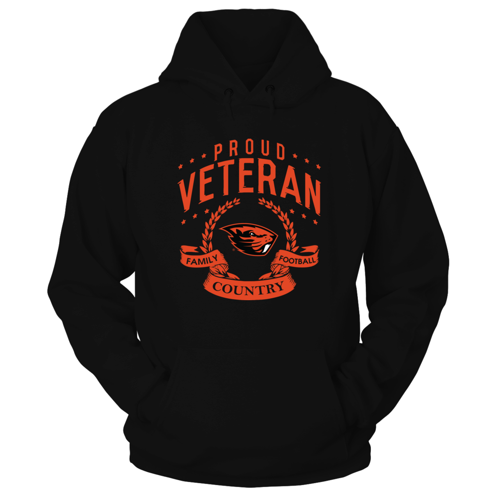 Oregon State Beavers - Proud Veteran Front picture