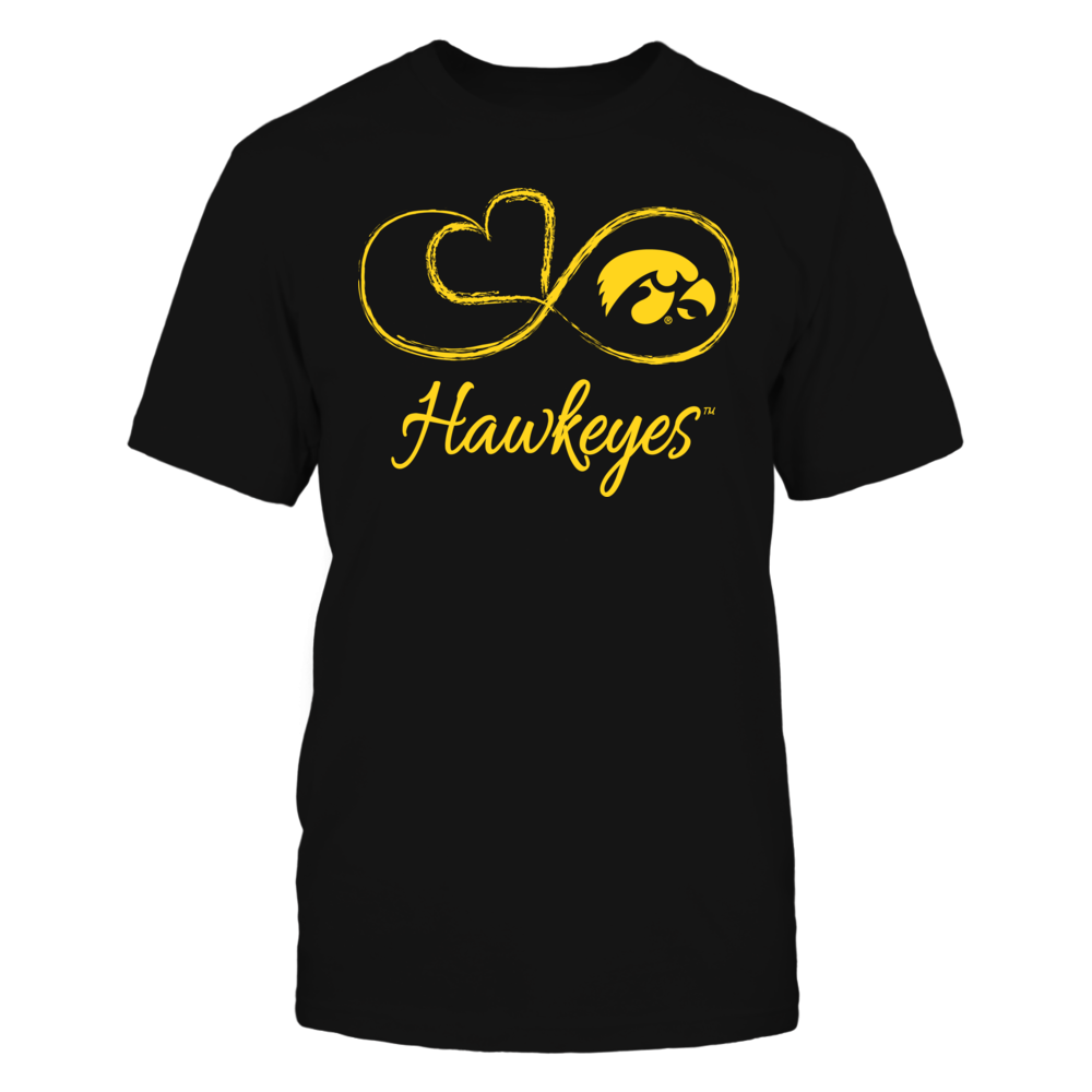 Iowa Hawkeyes - Infinite Heart Front picture