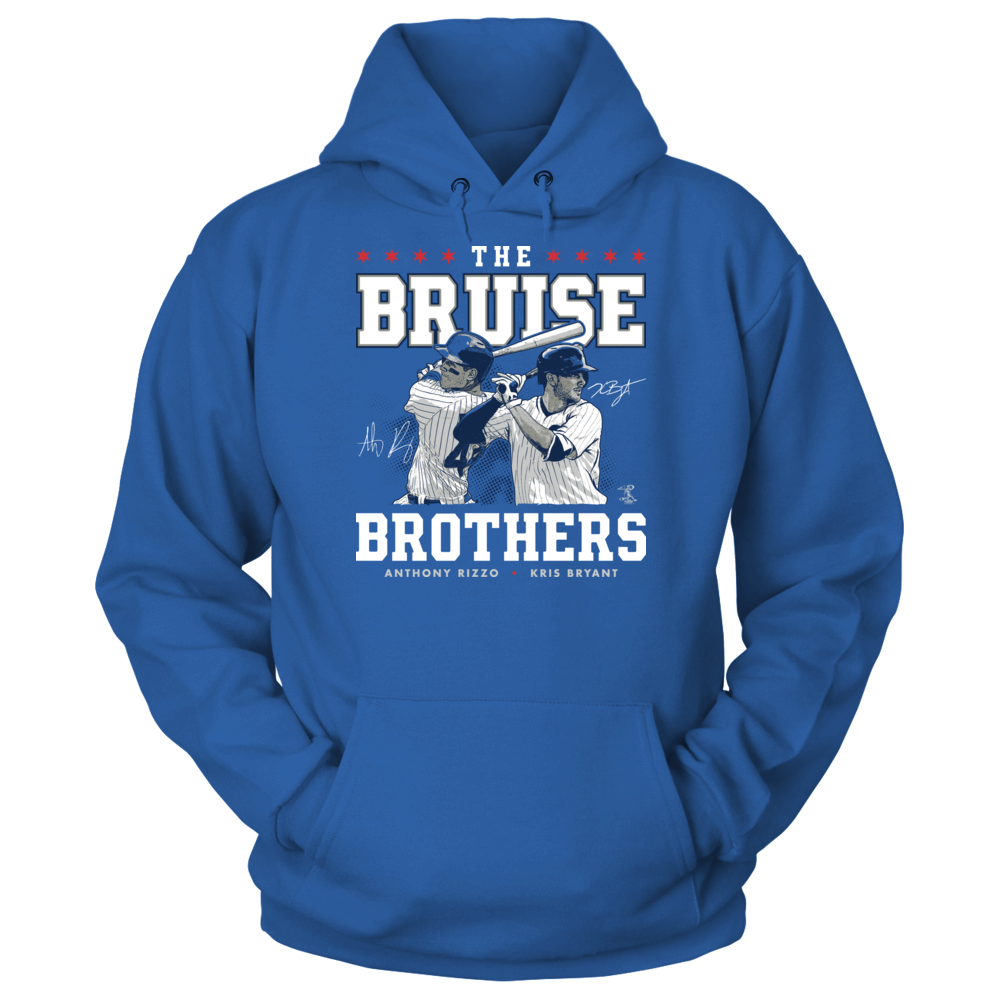 Anthony Rizzo The Bruise Brothers - Anthony Rizzo & Kris Bryant FanPrint