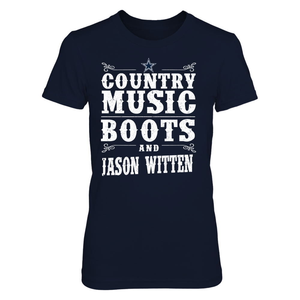 Jason Witten - Country Music Boots Front picture