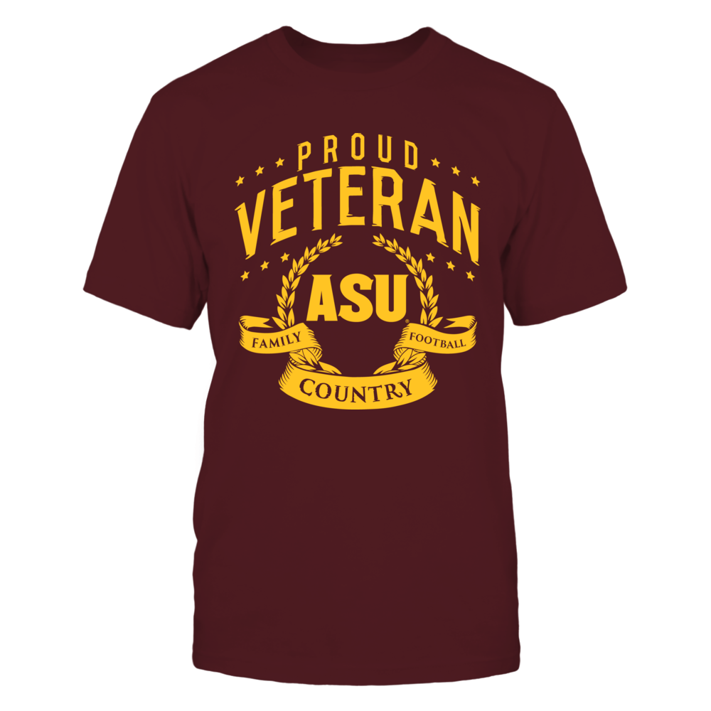 Arizona State Sun Devils Proud Veteran Arizona State FanPrint