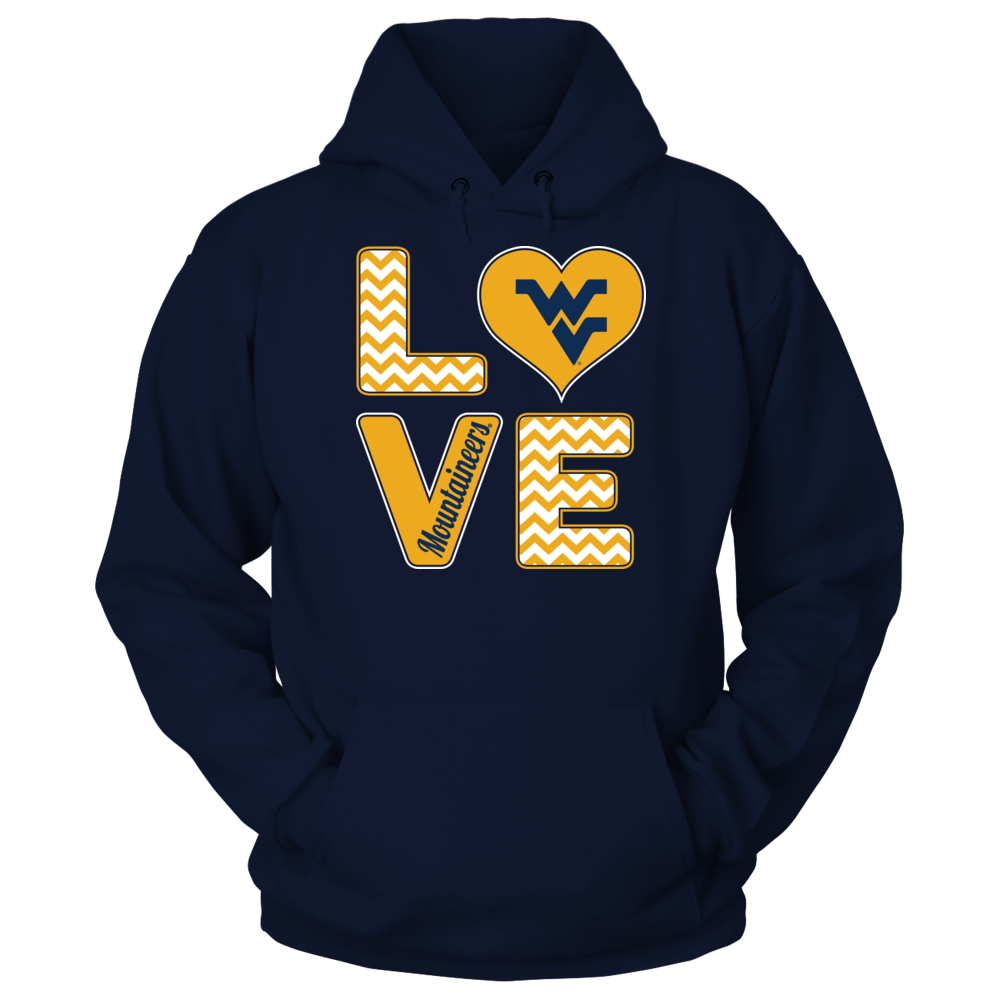 Stacked Love - West Virginia Mountaineers Front picture