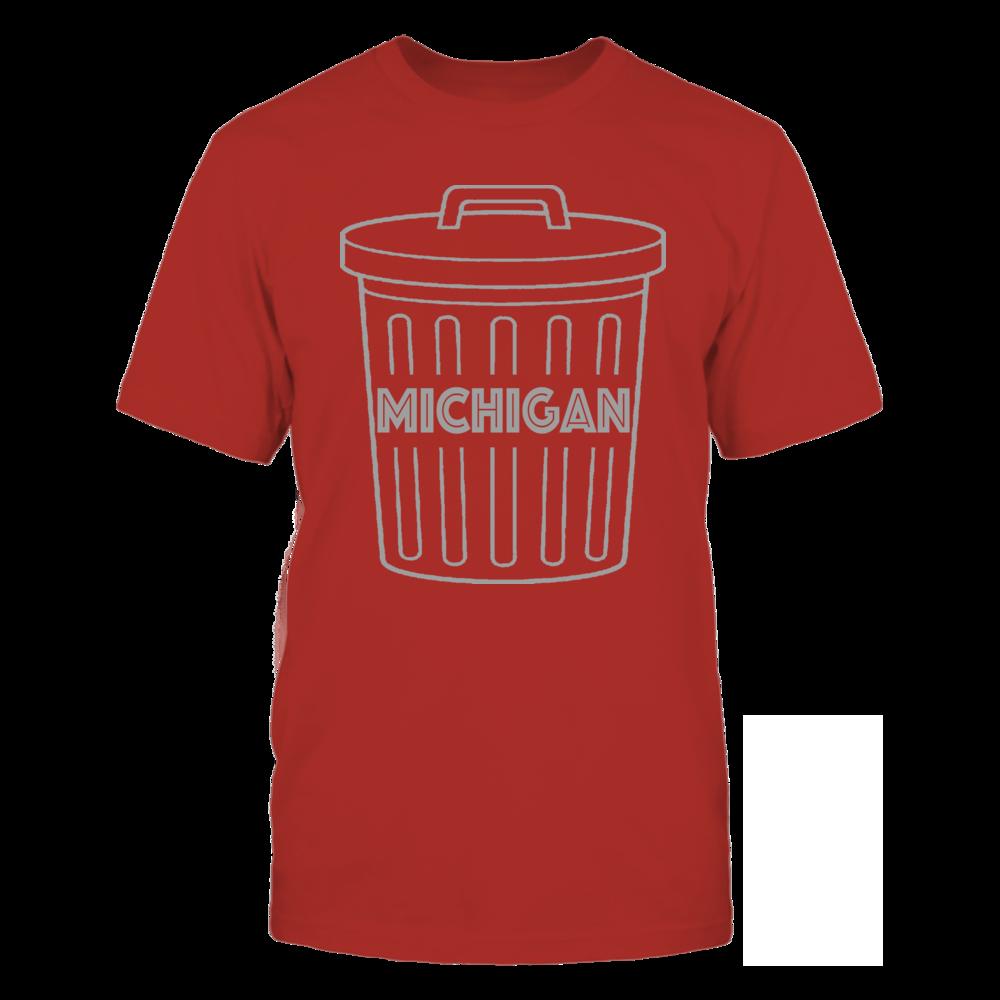 TShirt Hoodie Michigan Garbage Can Shirt FanPrint