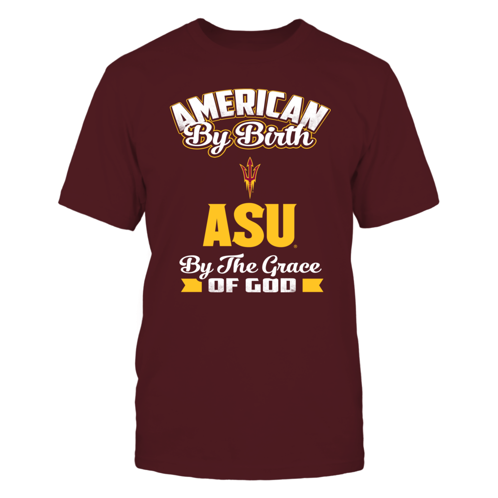 Arizona State Sun Devils American By Birth Arizona State FanPrint