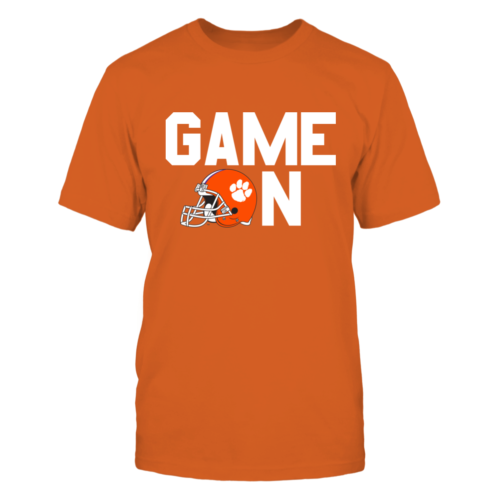 GAME ON - CLEMSON TIGERS Front picture