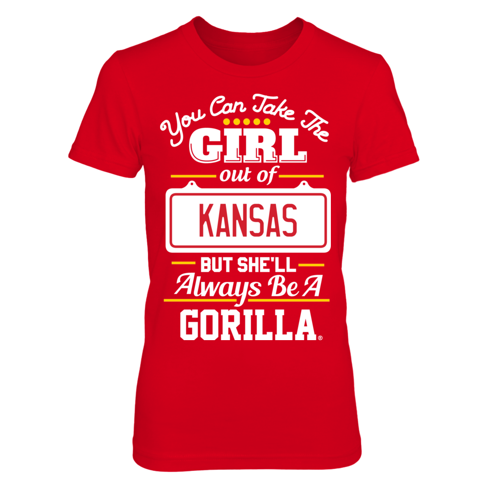 Pittsburg State Gorillas Take Her Out But She'll Always Be - Pittsburg State Gorillas FanPrint