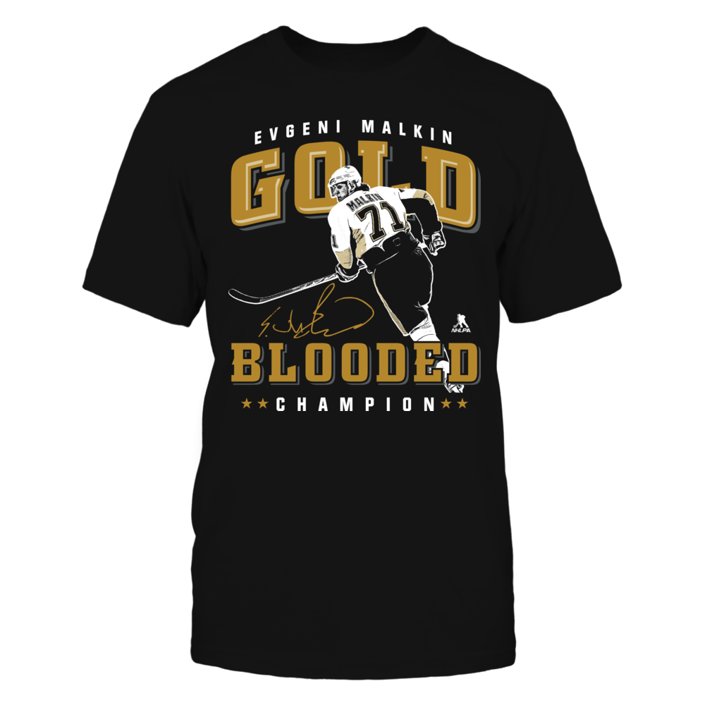 Evgeni Malkin - Gold Blooded Front picture