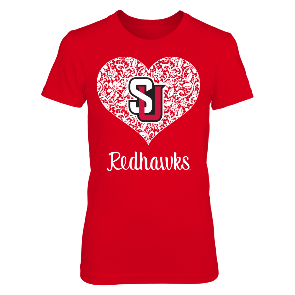 Seattle Redhawks Lace Logo - Seattle Redhawks FanPrint