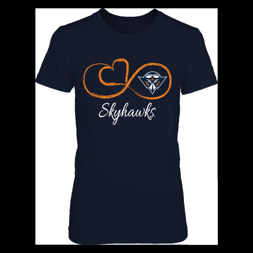 UT Martin Skyhawks Infinite Heart - UT Martin Skyhawks FanPrint