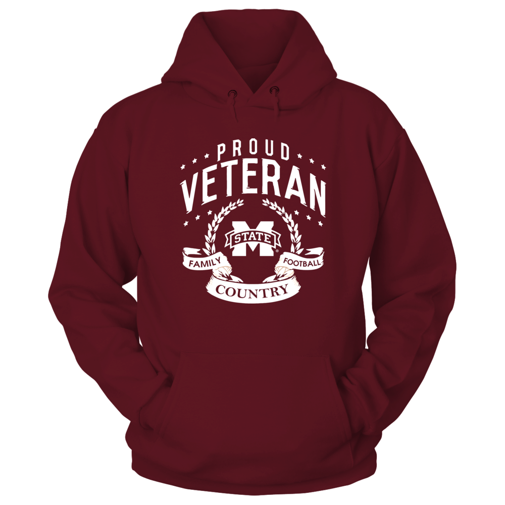 Mississippi State Bulldogs - Proud Veteran Front picture