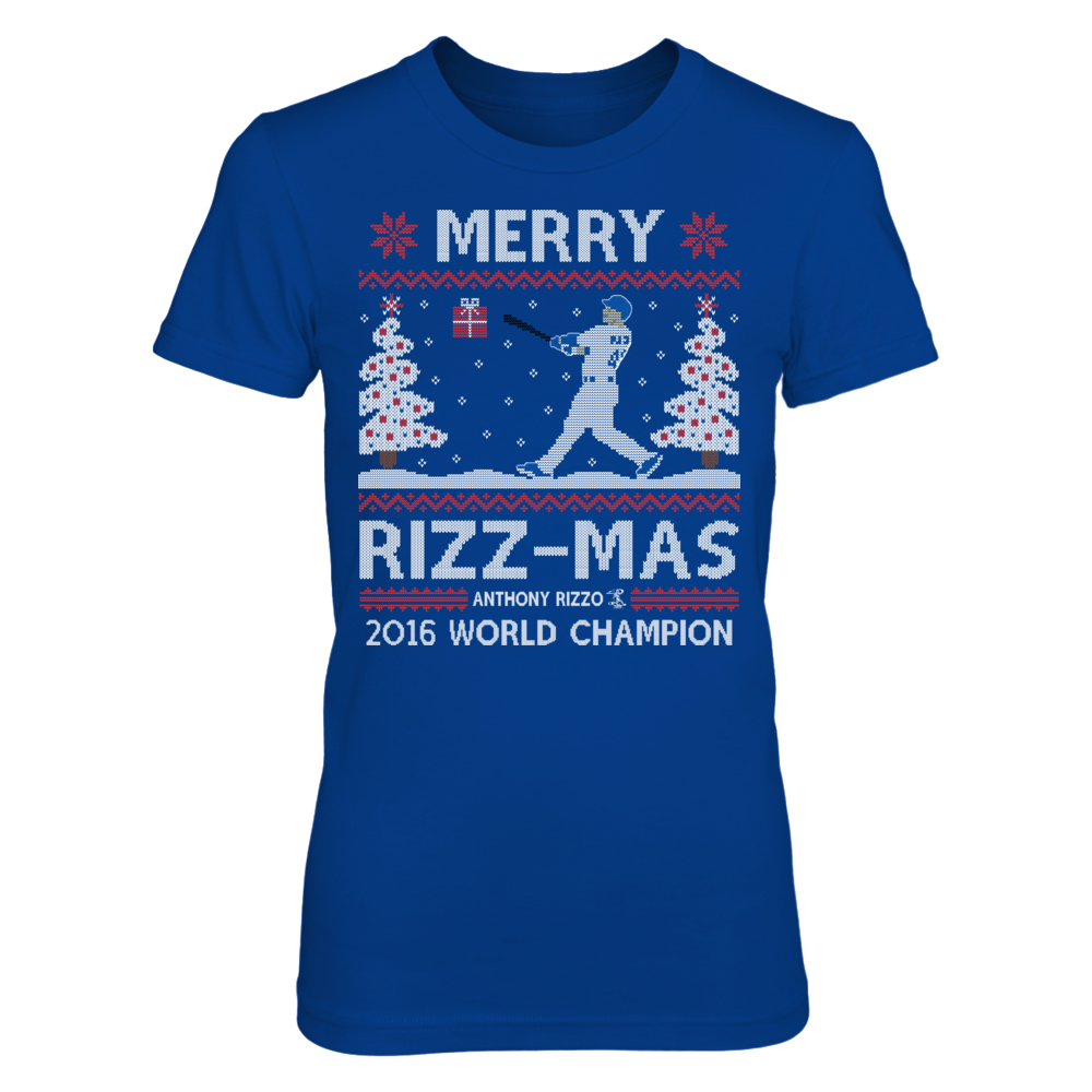 Merry Rizz-Mas (Ugly Christmas Sweater) - Anthony Rizzo Front picture