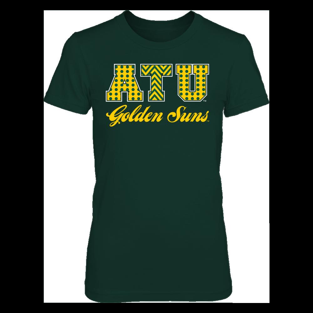 Patterned Letters - Arkansas Tech Golden Suns Front picture