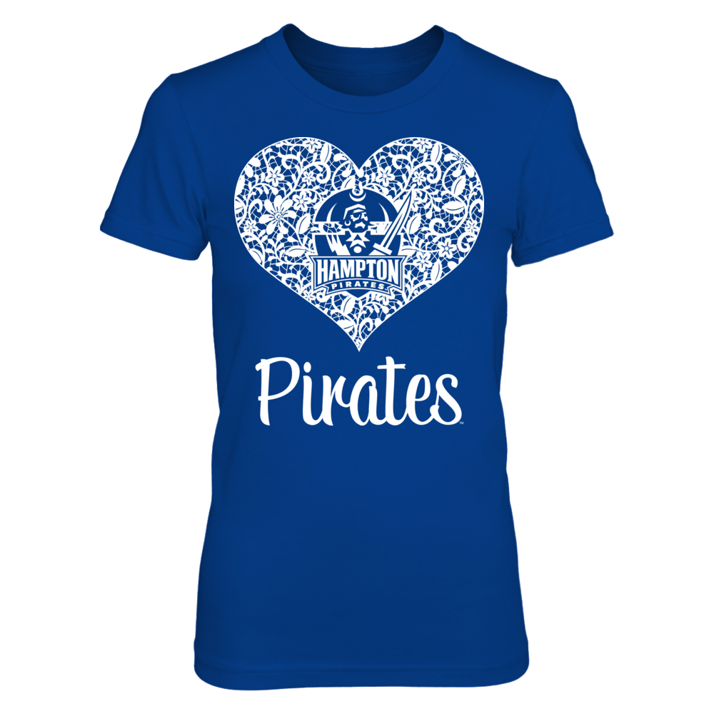 Hampton Pirates Hampton Pirates - Lace Logo FanPrint