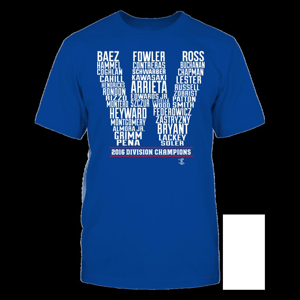 Jake Arrieta Chicago W - 2016 Central Champions FanPrint