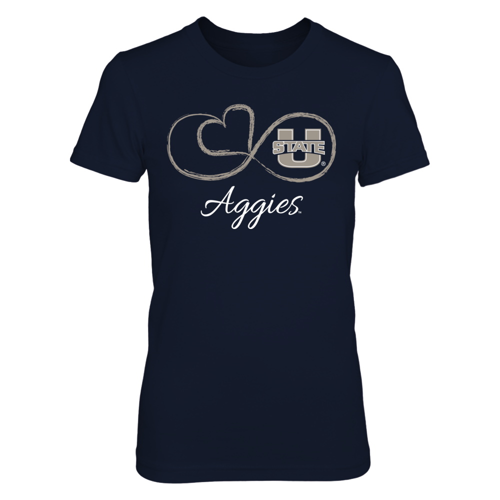 Utah State Aggies - Infinite Heart Front picture