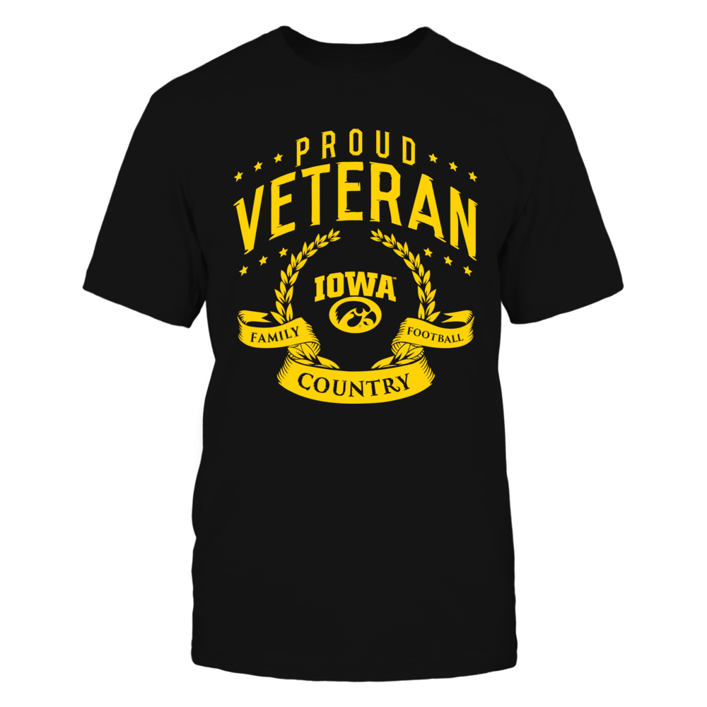 Proud Veteran Iowa Hawkeyes Front picture