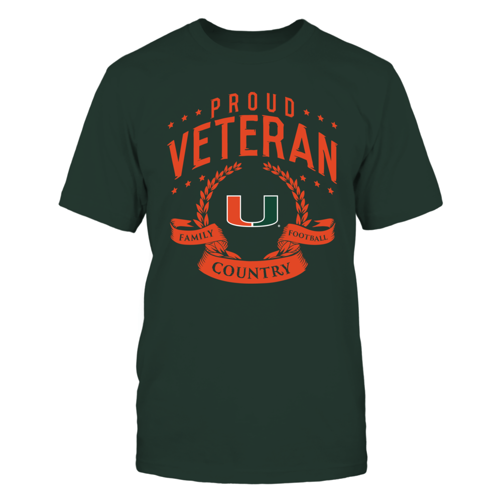 Proud Veteran Miami Hurricanes Front picture