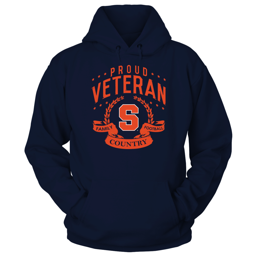Syracuse Orange - Proud Veteran Front picture