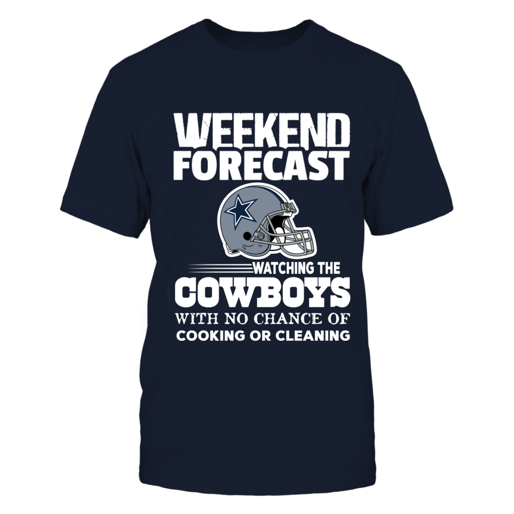 Weekend Forecast Watching The Cowboys - Helmet Logo Front picture