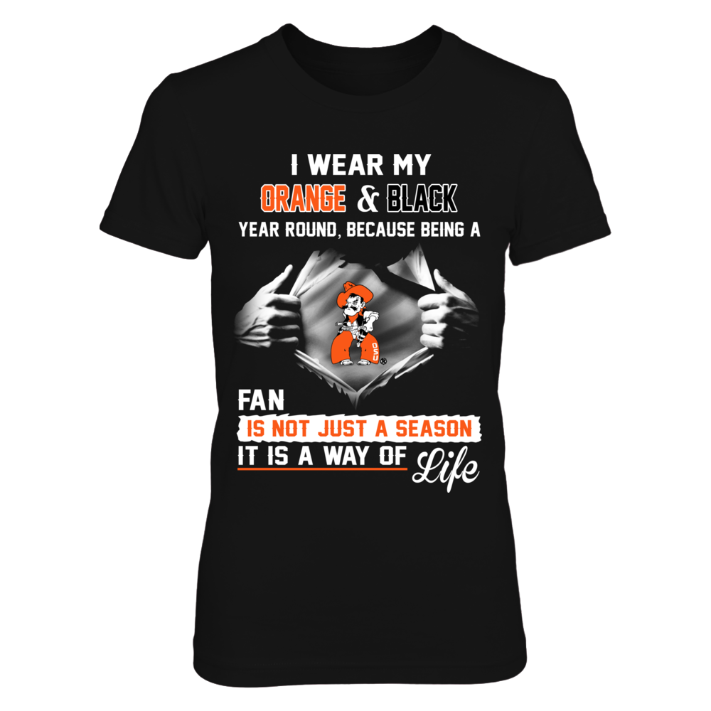 Oklahoma State Cowboys Oklahoma State Cowboys Is A Way Of Life FanPrint