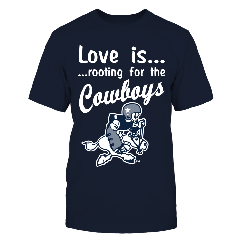 Love Is Rooting For The Cowboys Front picture