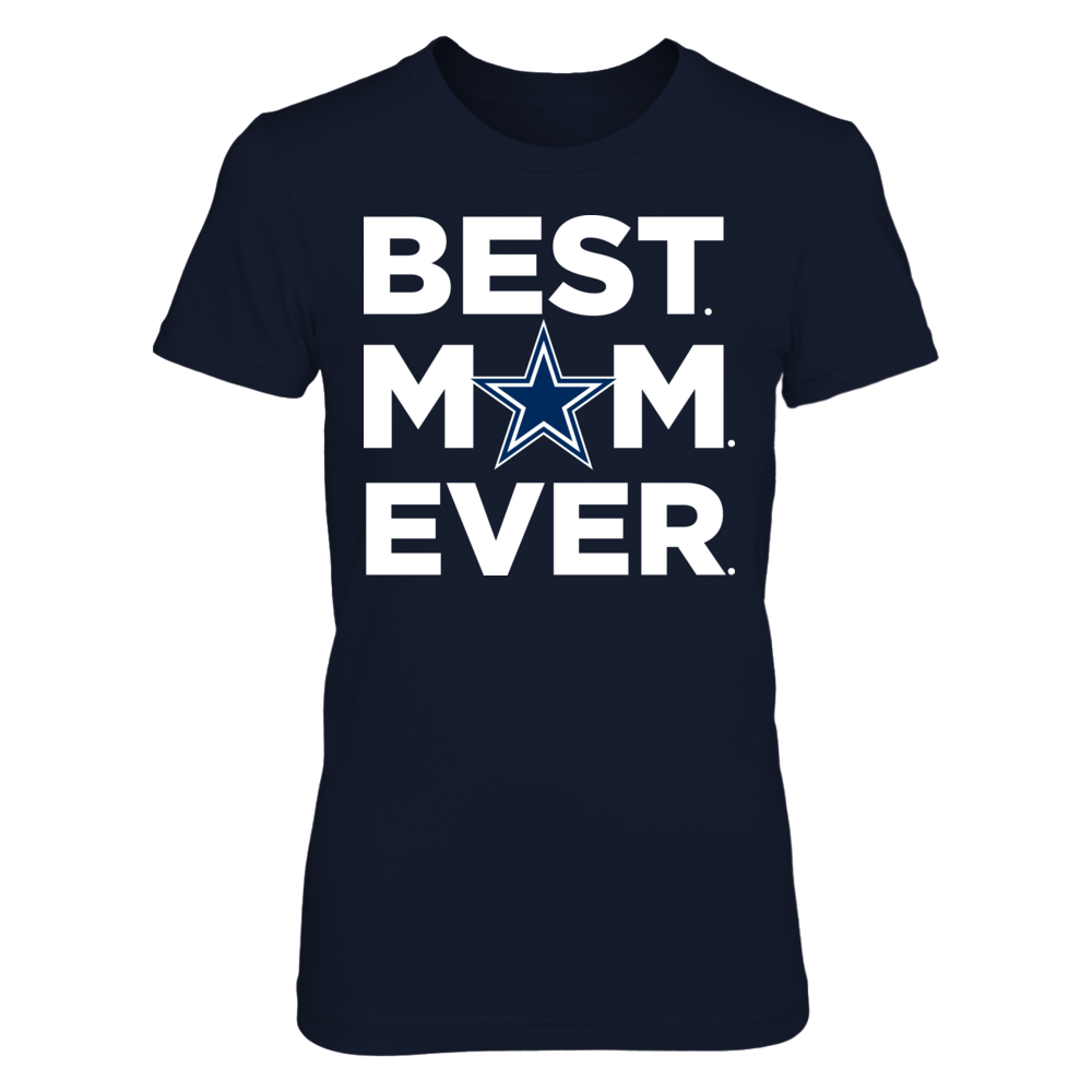 Best Mom Ever - Dallas Cowboys Front picture
