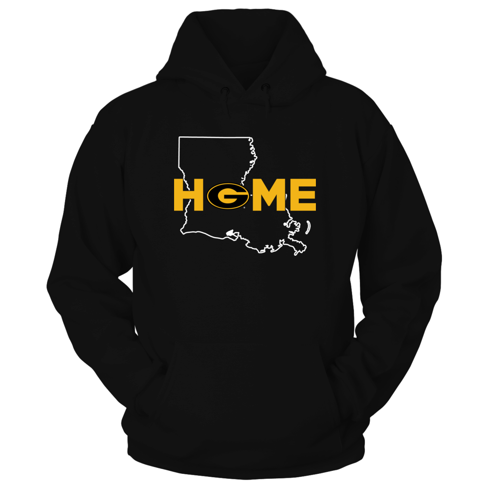 Grambling State Tigers - Home With State Outline Front picture