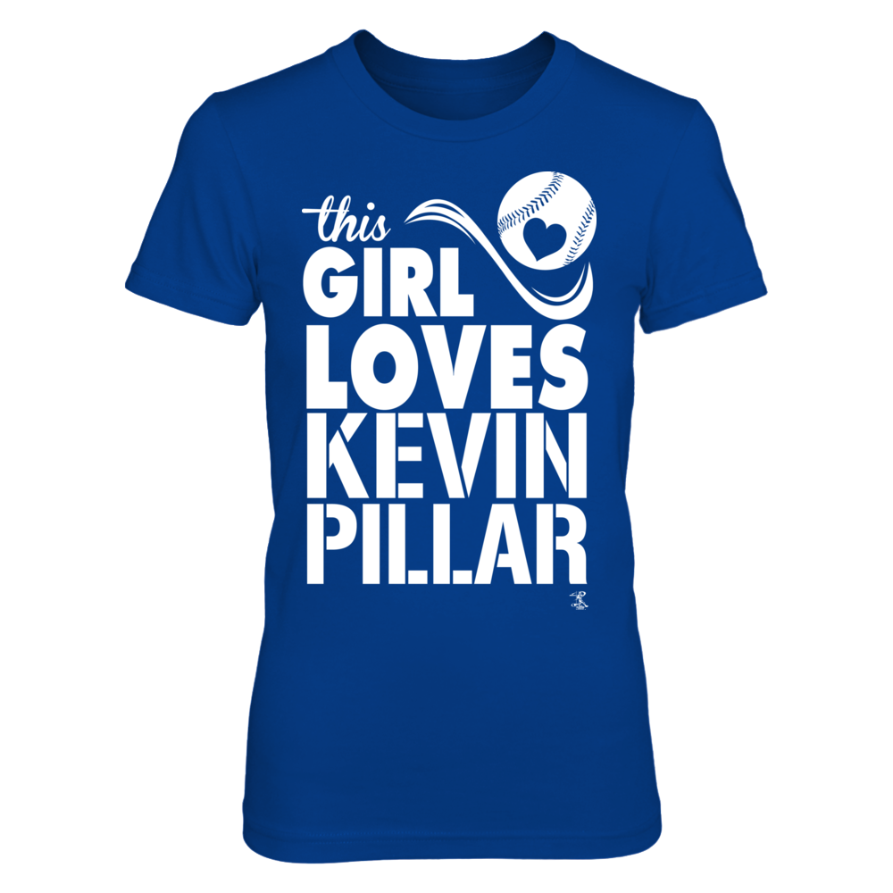 Kevin Pillar - This Girl Loves Front picture