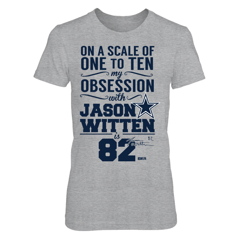 Jason Witten - Obsession From 1 to 10 is 82 Front picture