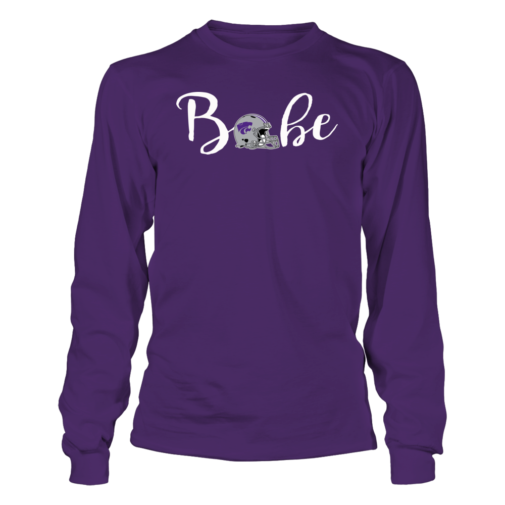 Kansas State Wildcat Football Babe Shirt Front picture