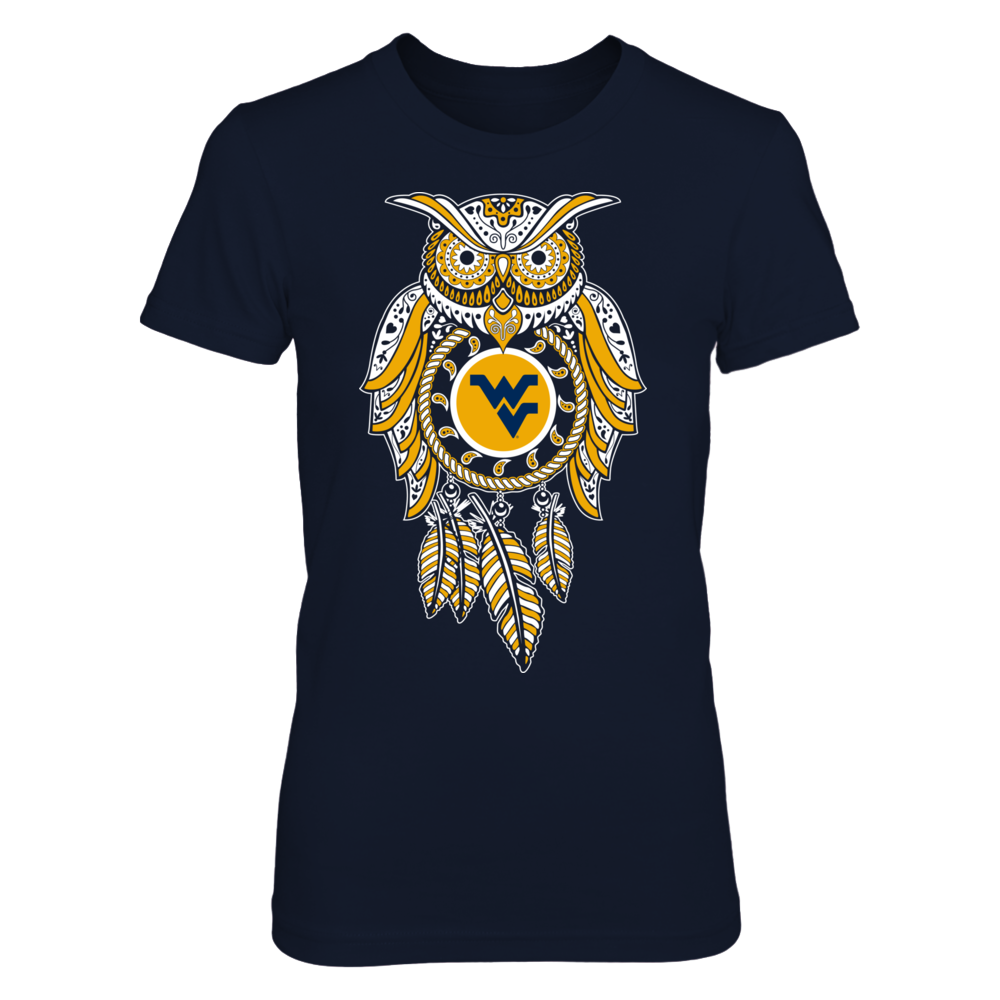 Sugar Skull Owl - West Virginia Mountaineers Front picture
