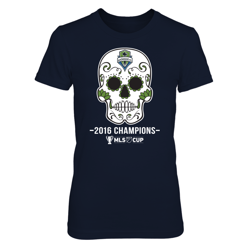 Seattle Sounders FC - Sugar Skull (2016 Championship) Front picture