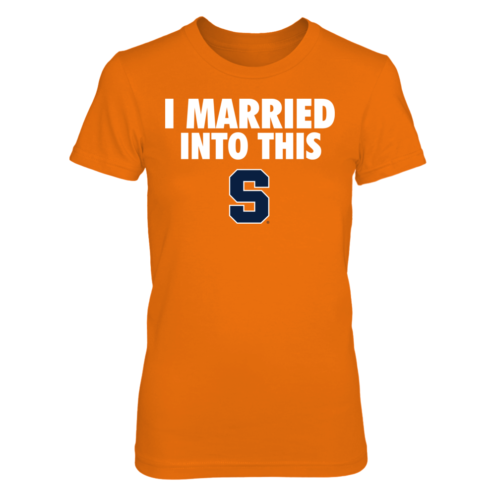 Syracuse Orange - I Married Into This Front picture