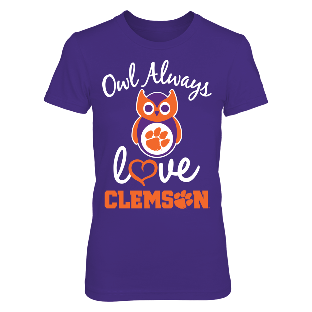 Owl Always Love You - Clemson Tigers Front picture