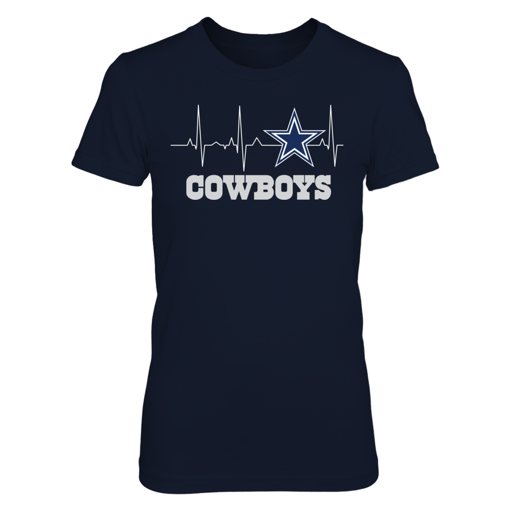 Dallas Cowboys - My Heart Beats EKG Front picture