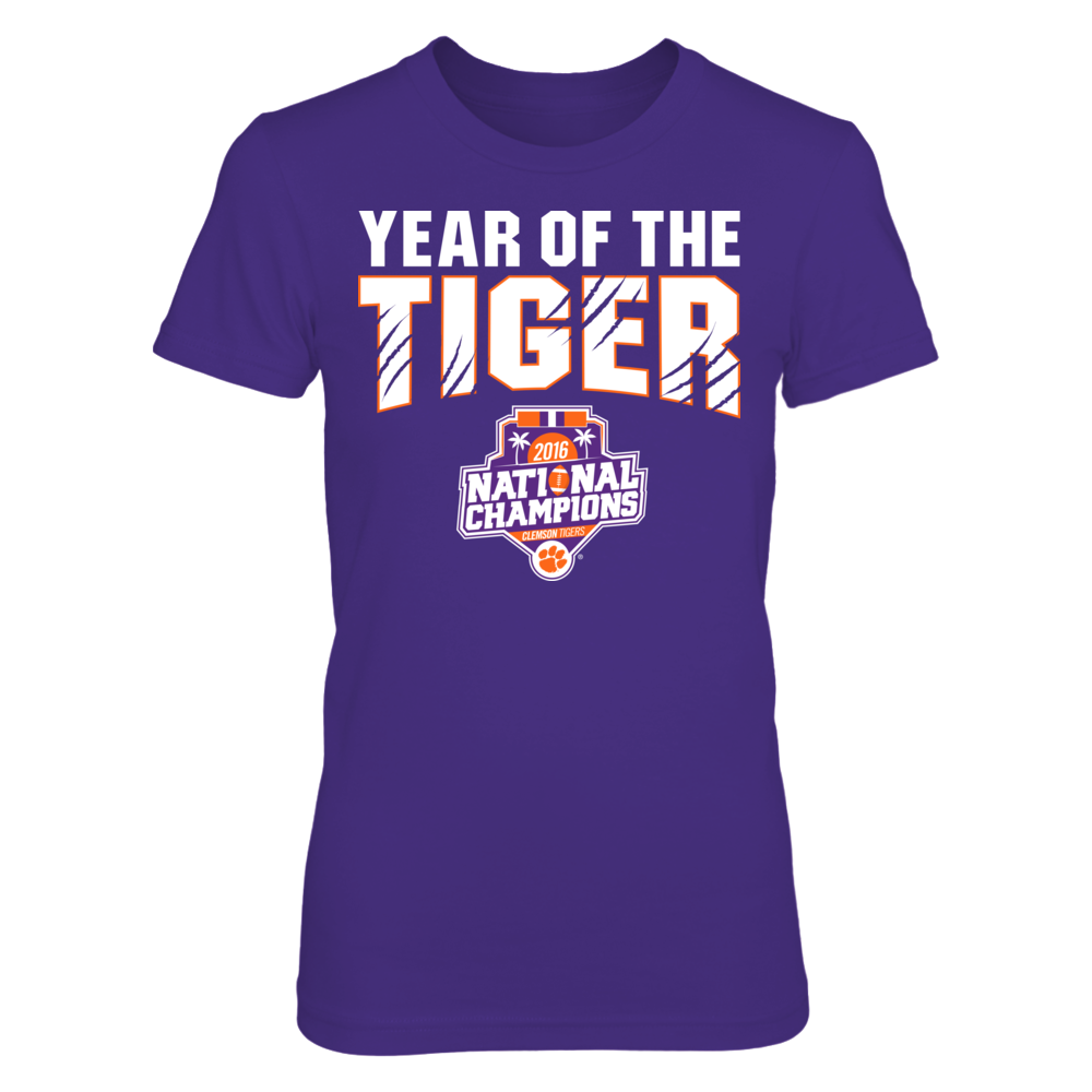Clemson Tigers - Year Of The Tiger 2016 Champions Front picture