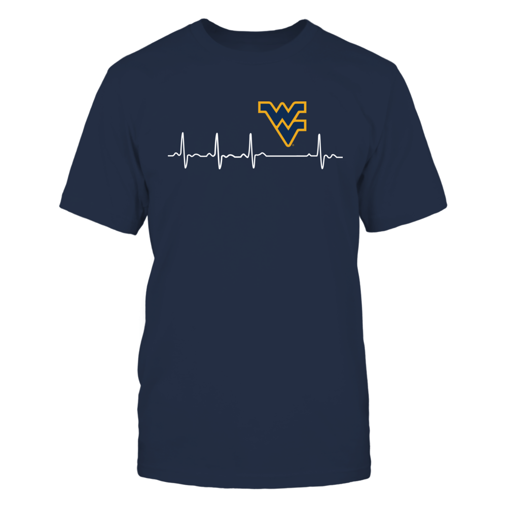 West Virginia Mountaineer - heartbeat Front picture