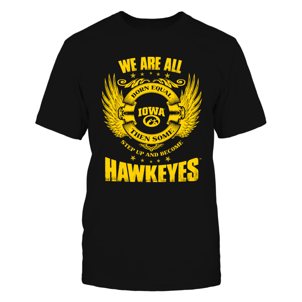 Iowa Hawkeyes Step Up Iowa Hawkeyes FanPrint
