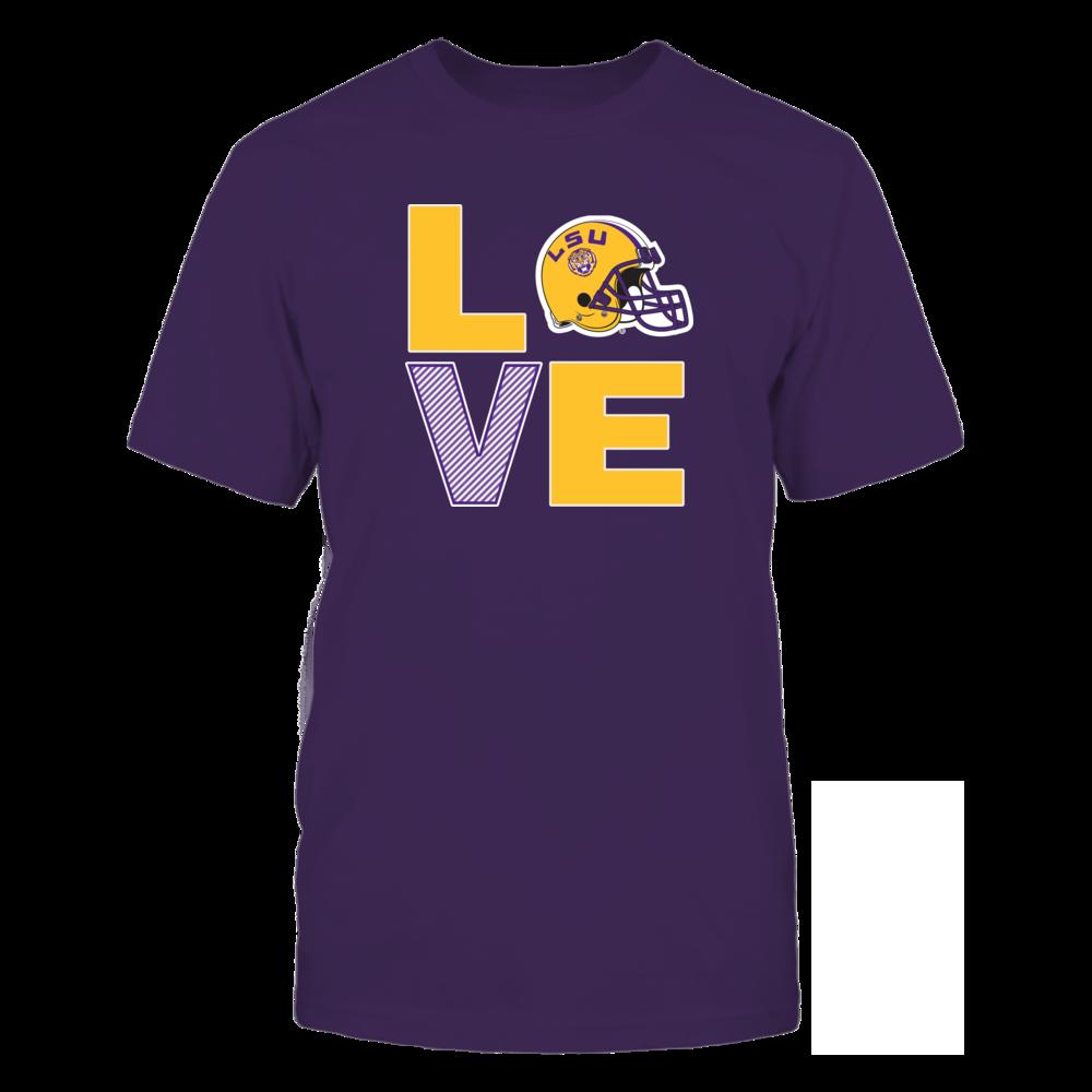 LSU Tigers LSU Fighting Tigers - Football Love FanPrint