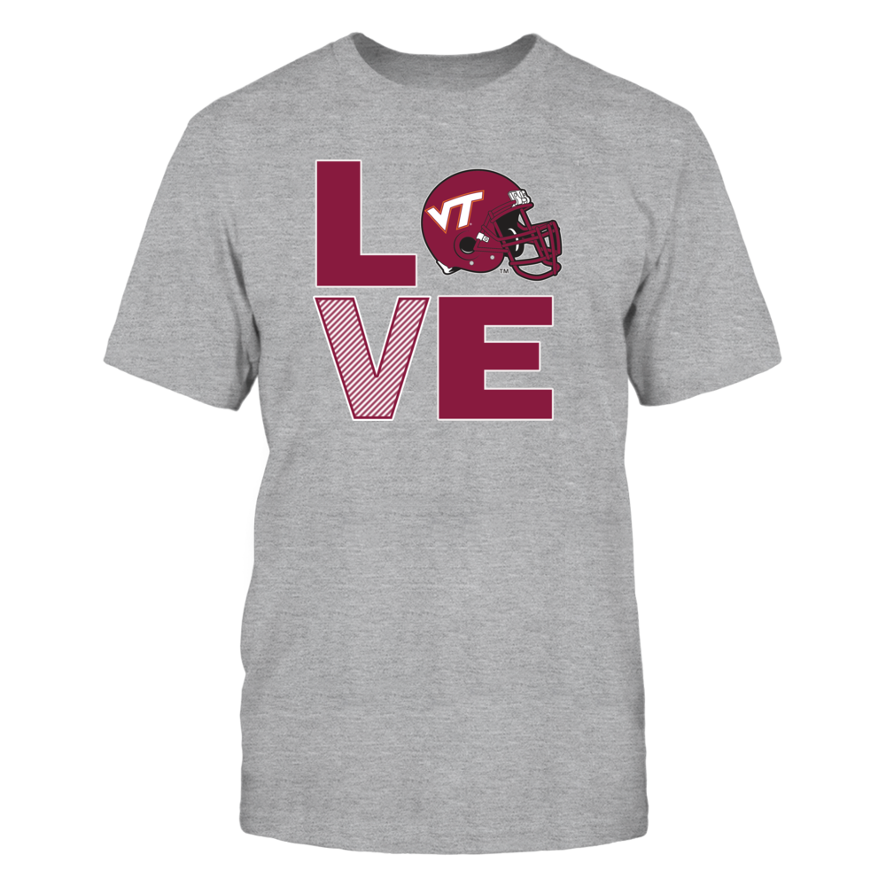 Virginia Tech Hokies Virginia Tech Football Love FanPrint