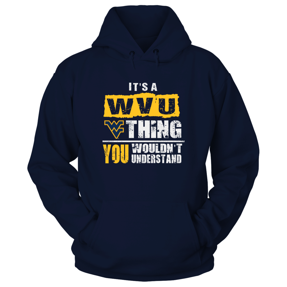 West Virginia Mountaineers - Wouldn't Understand Front picture