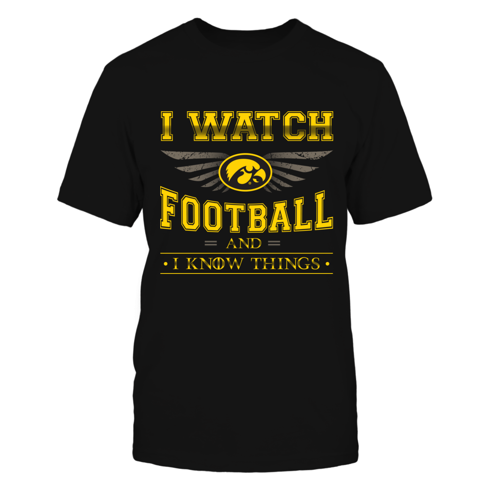 Iowa Hawkeyes - I Know Things Front picture