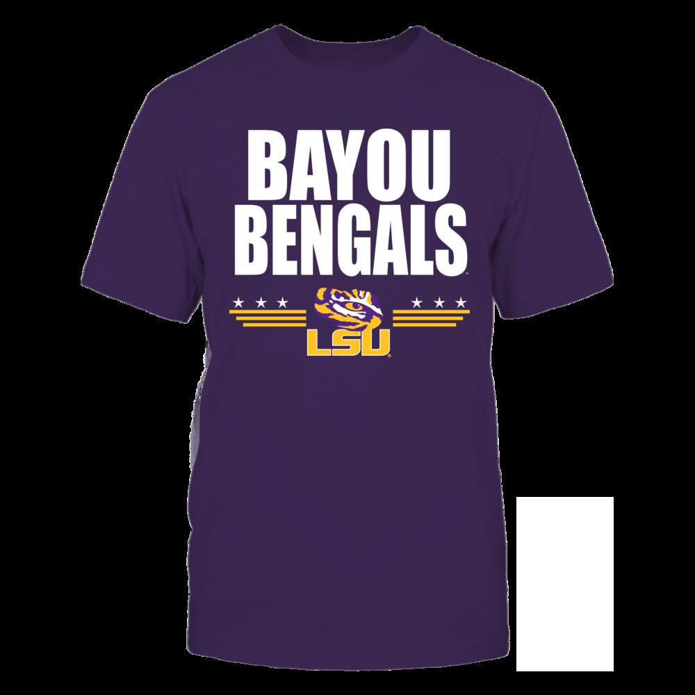 LSU Tigers Bayou Bengals FanPrint