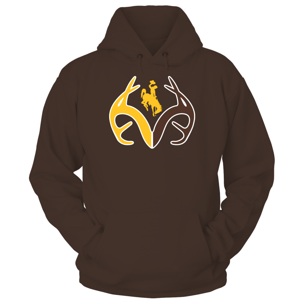 Antler Logo - Wyoming Cowboys Front picture